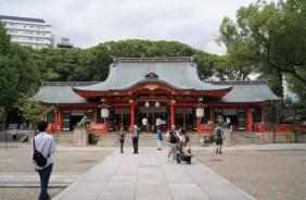 Ikuta Shrine.