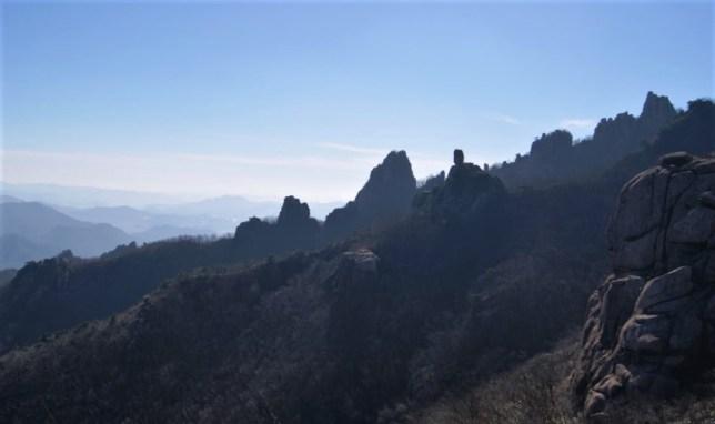 Wolchulsan mountains.