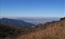 A beautiful view, except for that layer of smog.