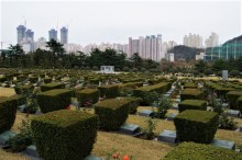 The only UN cemetery in the world.