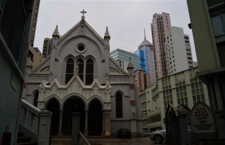 Hong Kong Cathedral of the Immaculate Conception.