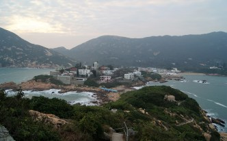 Shek O just before sunset.