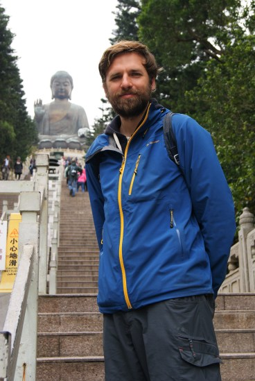 Heading up toward Lantau's Big Buddha.
