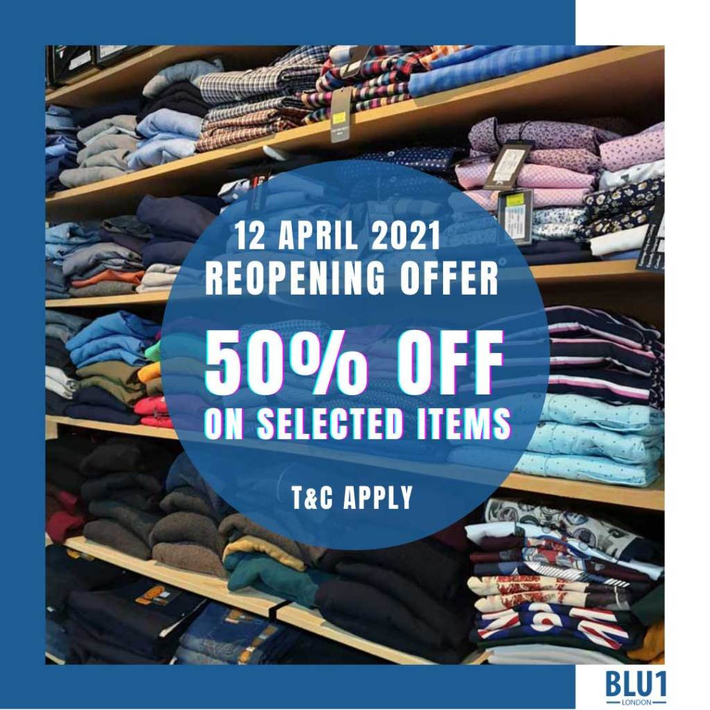 Blu1 London special reopening offer