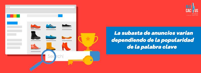 BluCactus Las subastas de anuncios varían dependiendo de la popularidad de la palabra clave. Google Adwords en Mexico Anuncios Google Ads