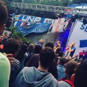 La festa degli UTC a Villa Scassi durante la finale della Pint Cup