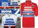 Dopo Samp for Peace nella stagione 1995/1996 la Sampdoria ha avuto come sponsor la Nuova Tirrena.