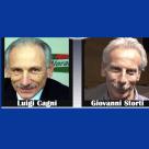Luigi Cagni e Giovanni Storti