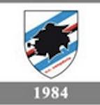 Il logo della Sampdoria del 1984