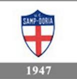 Il logo della Sampdoria del 1947