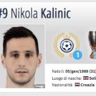 1°classificato) Nikola Kalinic