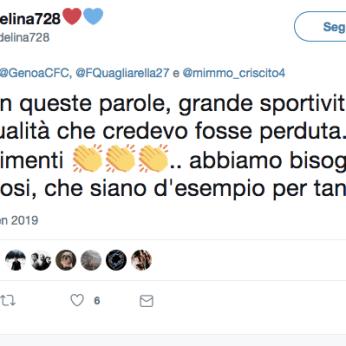 Twitter Quagliarella Genoa10