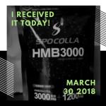 HMBカルシウムサプリが届いた!