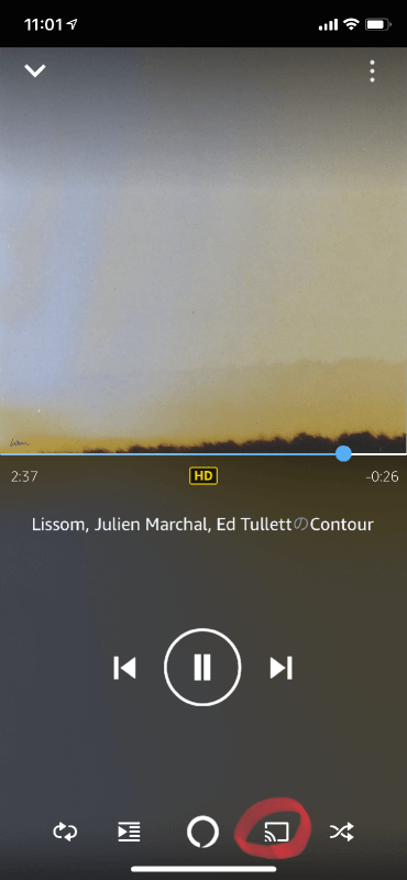 Amazon Music HD-SONOS