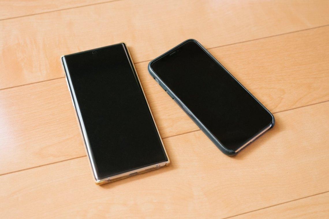 Galaxy Note 10 Plus, iPhoneXS