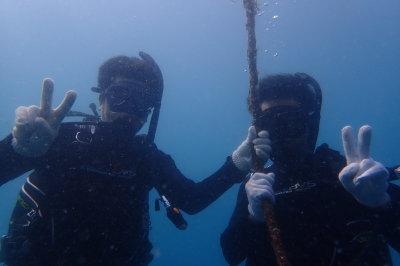 初!海洋実習