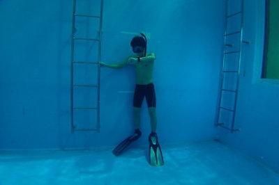 スキンダイビング練習