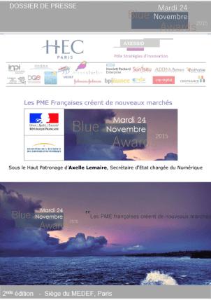 Dossier de Presse 2015