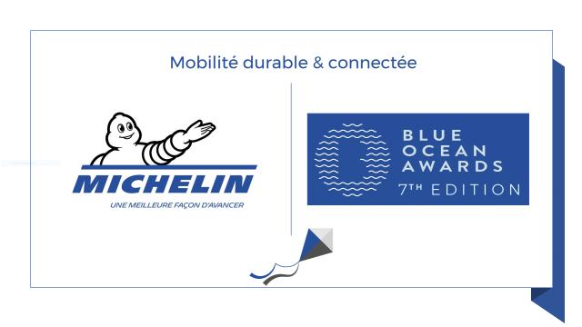 Mobilité Michelin : Stratégie & Prix Mobilité Blue Ocean Awards