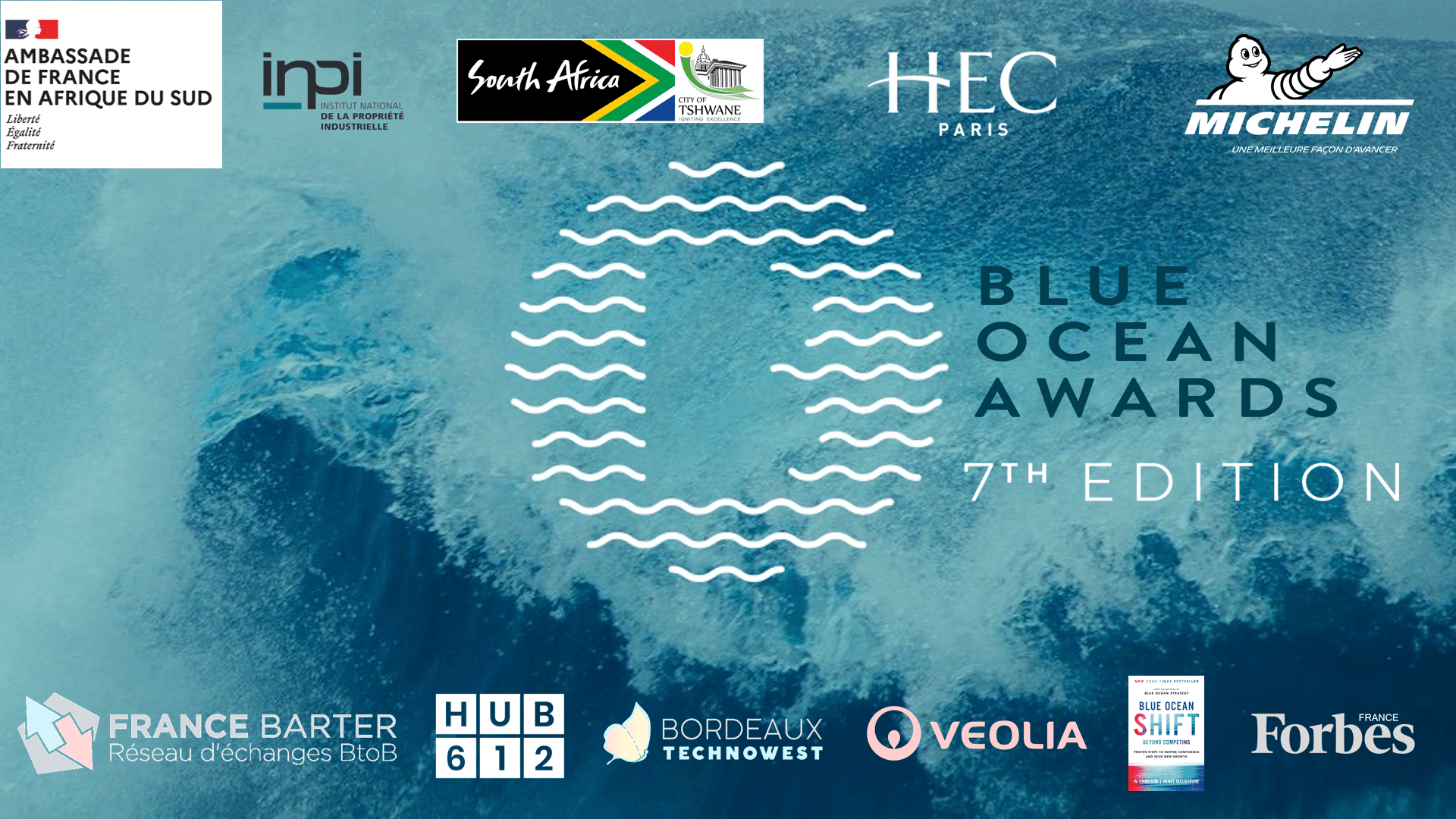Logo officiel des 7th Blue Ocean Awards
