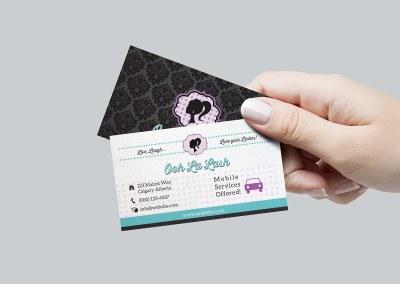 Eyelash Studio Branding