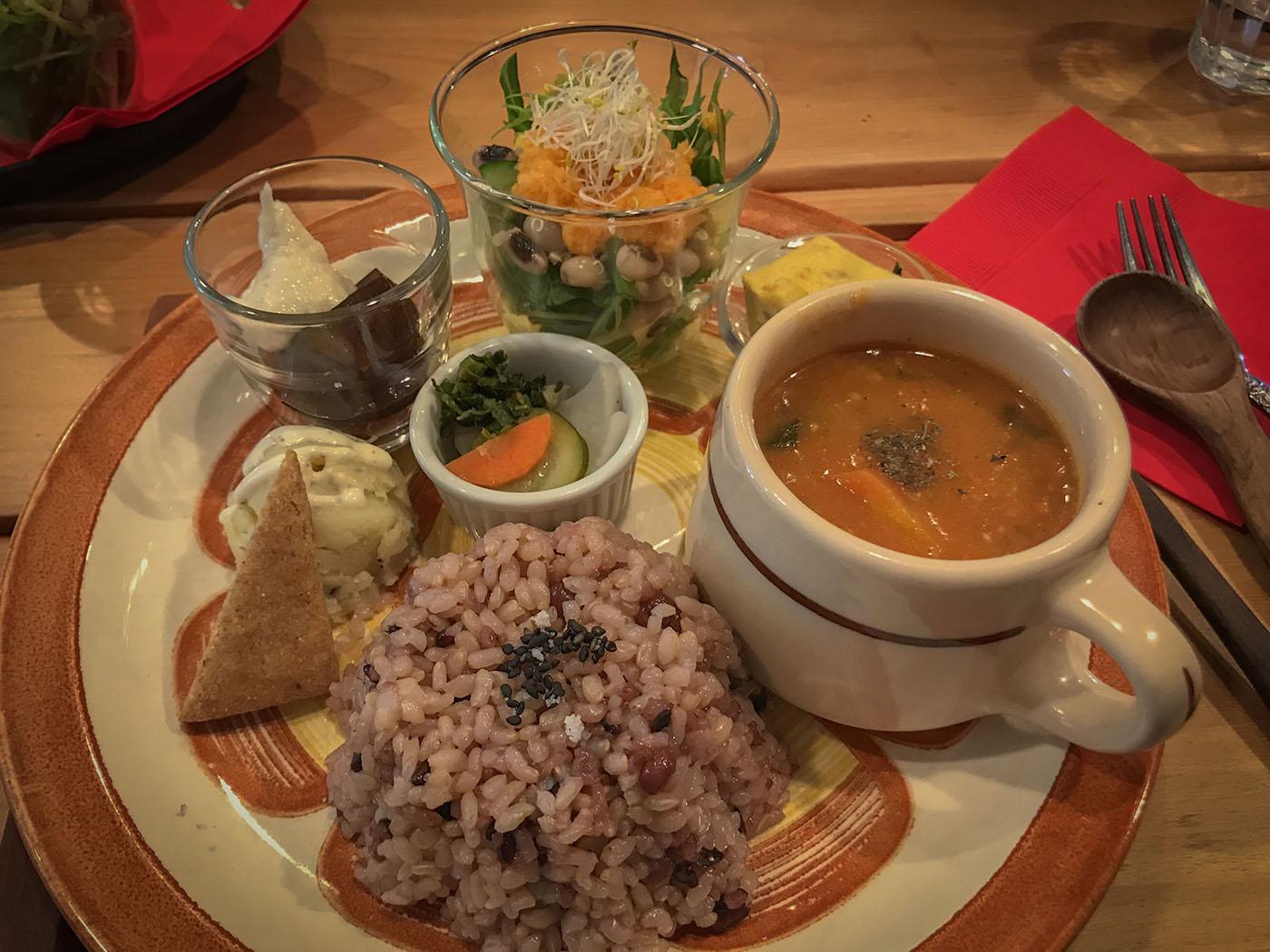 vegan meal Kyoto