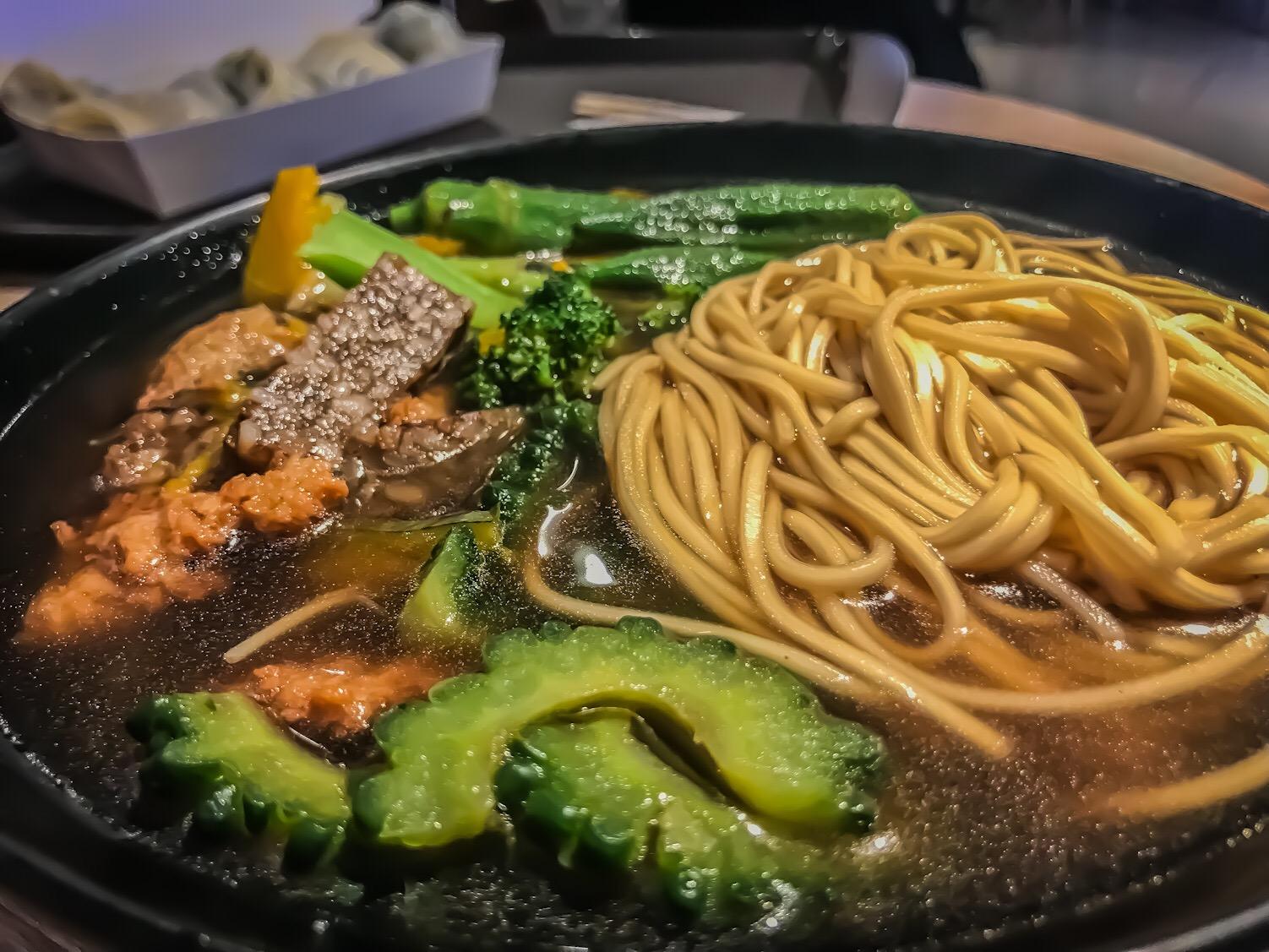 vegan noodles Taiwan