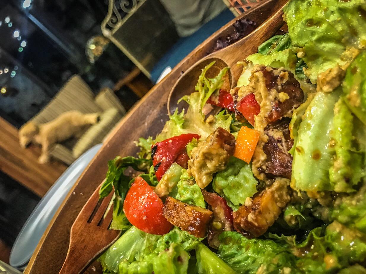 vegan salad Taipei