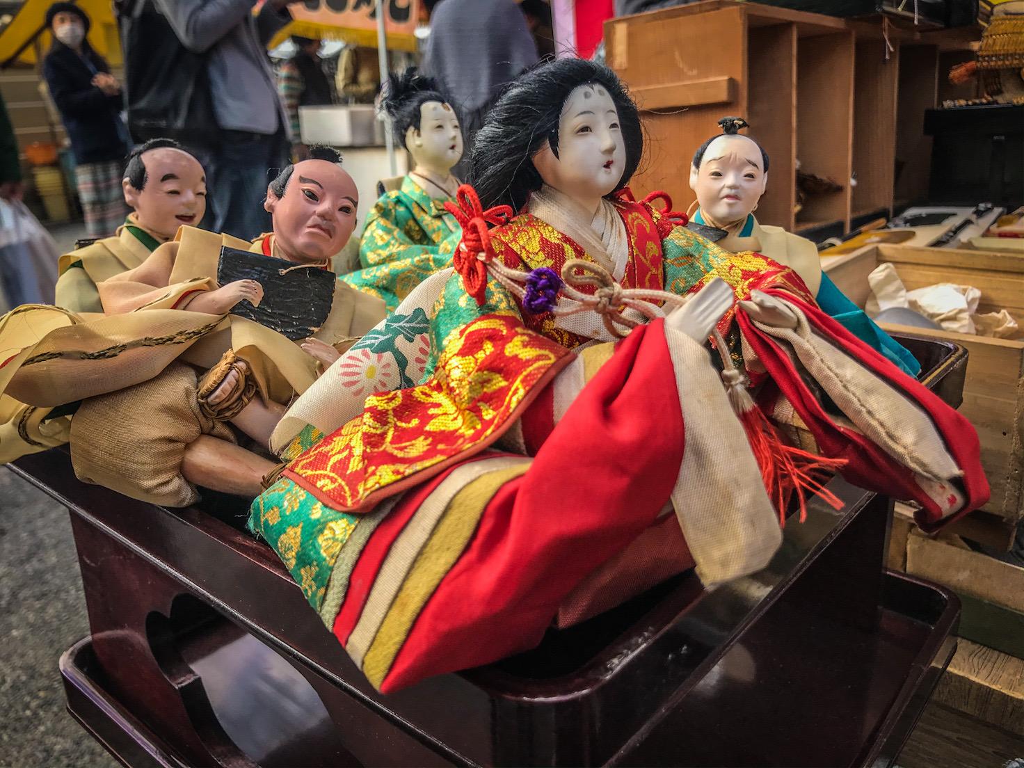 old hina dolls