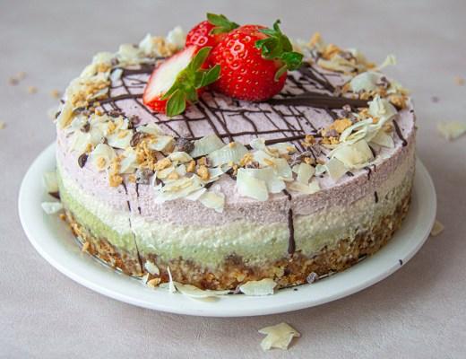 עוגה טבעונית ללא גלוטן