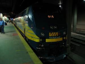 鉄道の他のメリットは、「旅情」でしょうか?