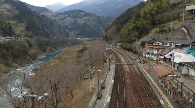 子連れで行く、四国3泊4日旅行 その7 大歩危を経由し、アンパンマン列車で帰途に