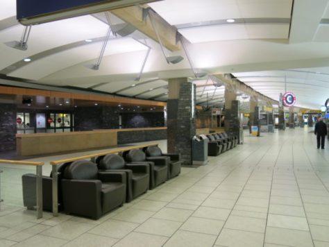 カルガリー空港国際線到着口