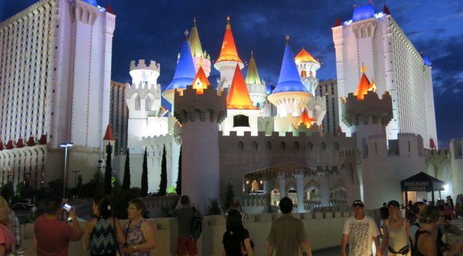 8歳の娘と父親で行く、ラスベガス旅行記 その2 1日目 エクスカリバーホテルにて
