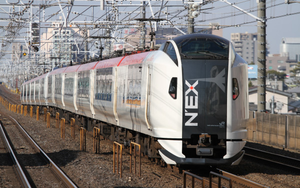 E259 series is the fleet for Narita Express.