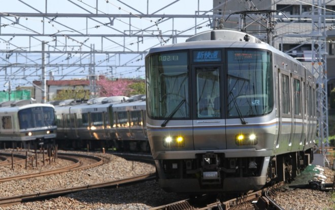 Special Rapid Service operated by JR West 223 series.