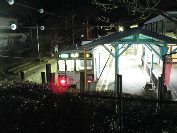 Bessho Onsen station of Ueda Electric Railway. (C) JP Rail