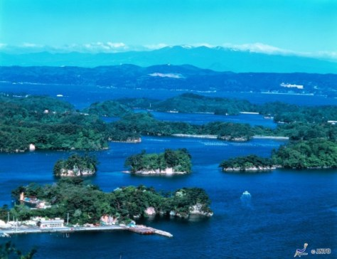"Matsushima is a few steps away from Sendai. This place is known as one of ""Three Scenery of Japan"". (C) JNTO"
