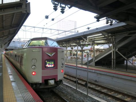 Limited Express Yakumo connects Okayama and Sanin area.