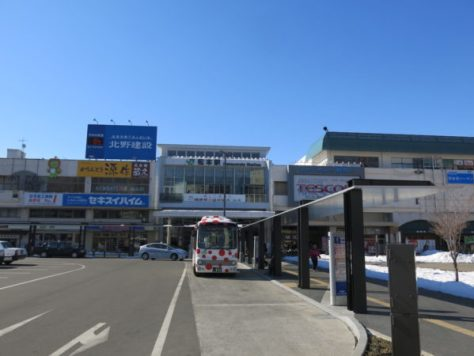 Matsumoto station from Oshiro-guchi (east side)