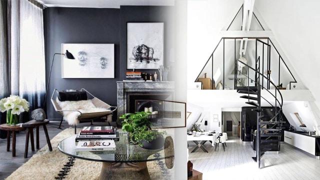 Percantik Ruanganmu Dengan Nuansa Hitam Putih Ini 5 Tipsnya