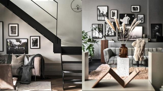 5 Tips Maksimalkan Interior Rumah Dengan Warna Hitam Dan Putih