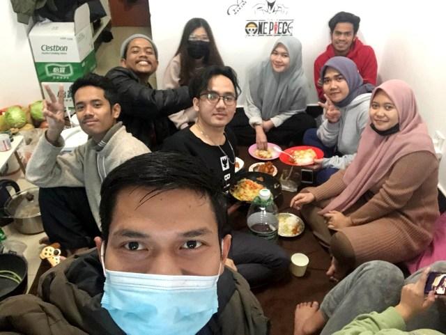 Mahasiswa Aceh yang berada di Kota Wuhan, China