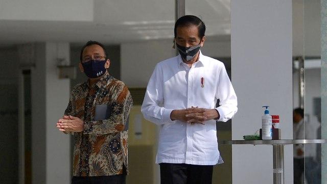 Survei Indikator: Wabah Corona, Kepuasan Masyarakat Atas Kinerja Jokowi Turun