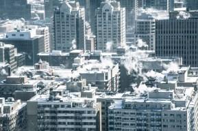 Montréal vu du Belvédère du Mont Royal
