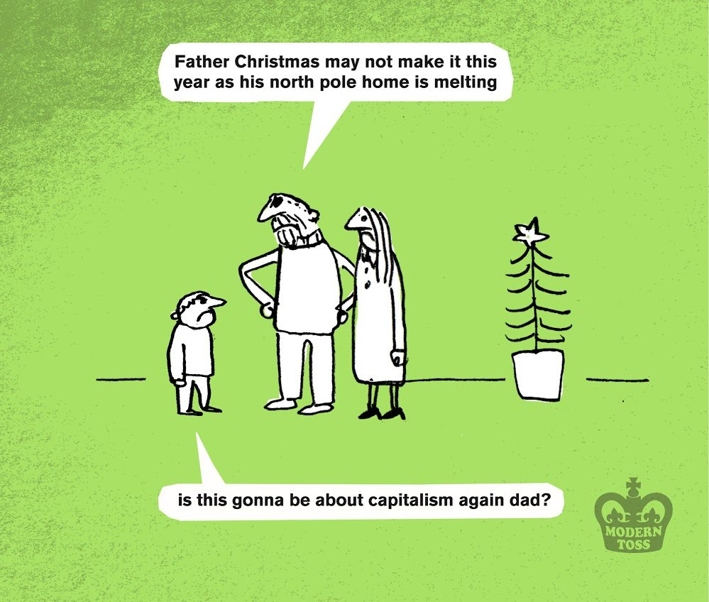 In Pictures Greenpeace Christmas Cards To Save Santas