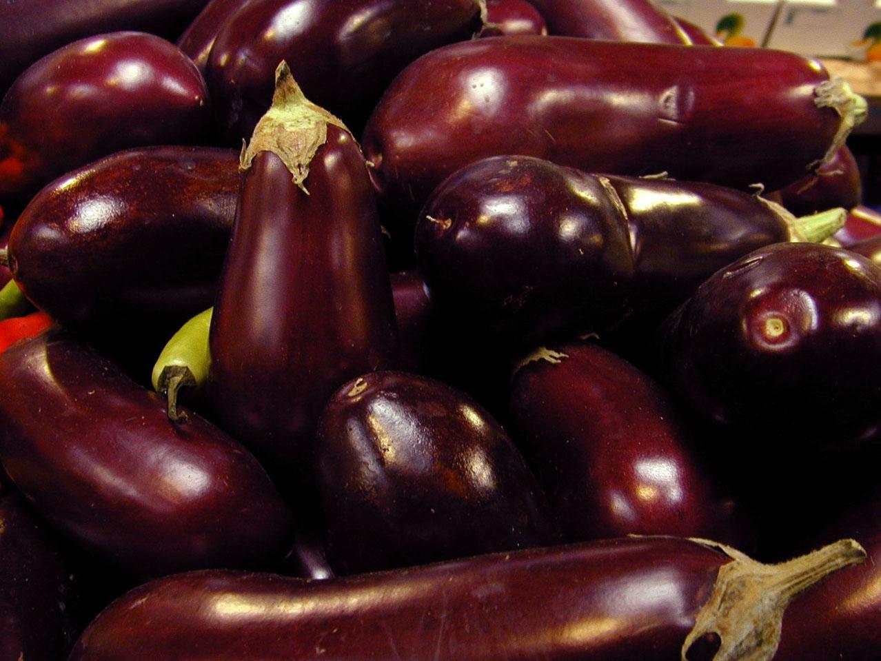 Eggplant is evil!