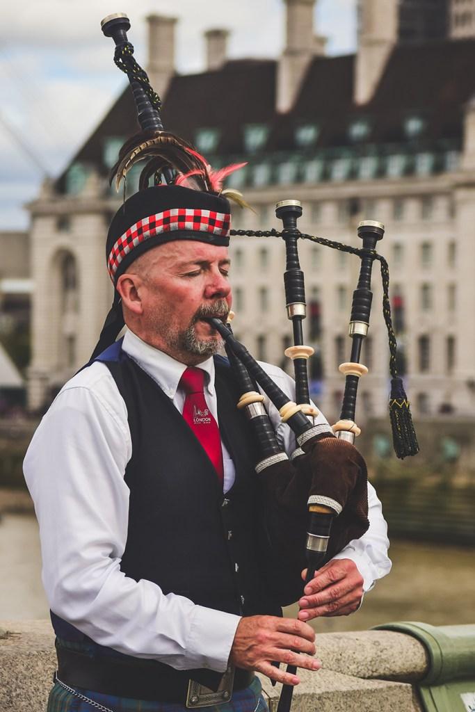 Scotland Bag Pipes