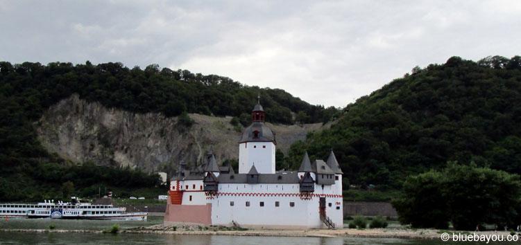 Burg Pfalzgrafenstein bei Kaub.