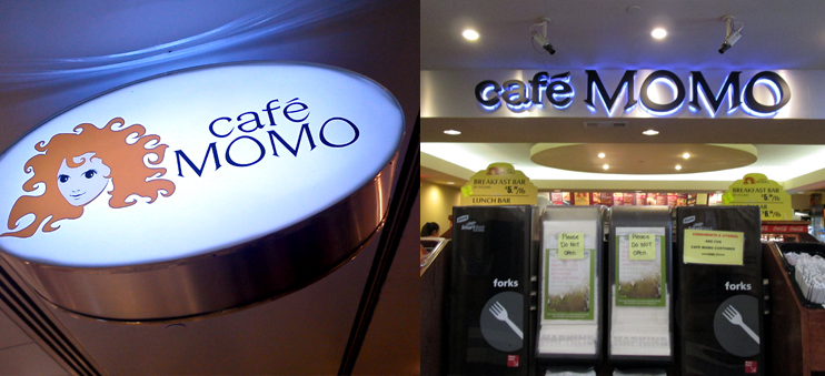 Café Momo in Downtown im Mall at Peachtree Center.